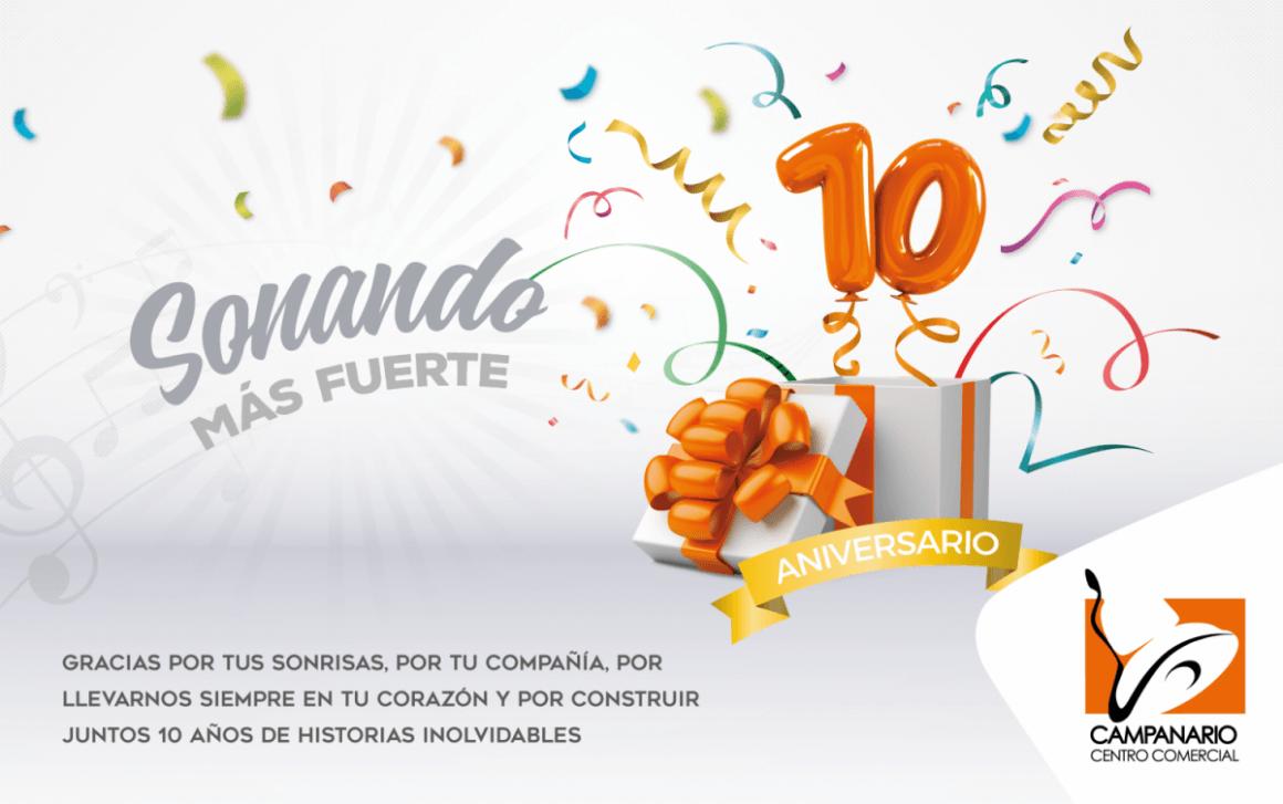 Imagen del 10º aniversario de Campanario Centro Comercial