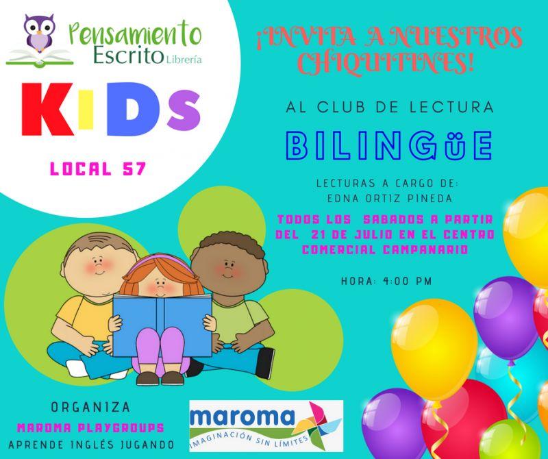 Club de lectura bilingüe