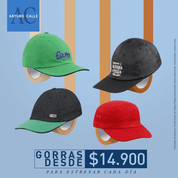 Gorras desde $14.900 – Arturo Calle