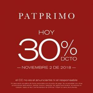 PAT PRIMO - Trasnochón de descuentos