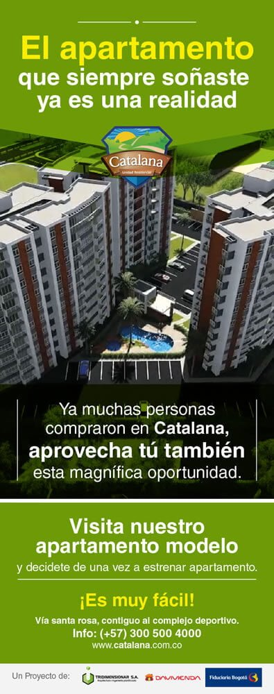Mailing Catalana Unidad Residencial