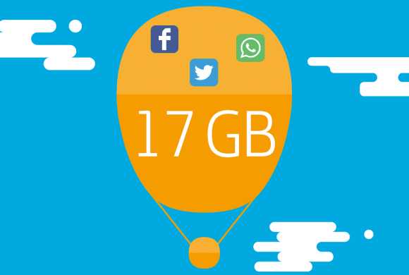 Top 3 de planes pospago 17GB