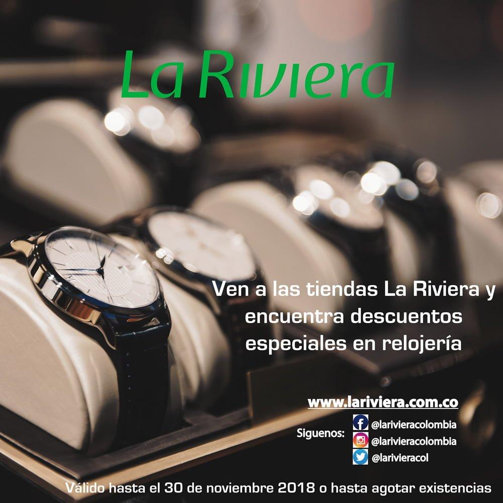 Descuentos en relojería – La Riviera
