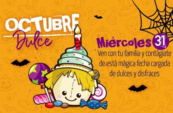 Miércoles 31 de octubre será un día cargado de dulces