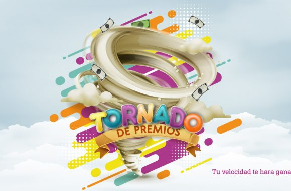 Tornado de premios de Campanario Centro Comercial