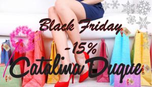 Oferta Black friday Catalina Duque