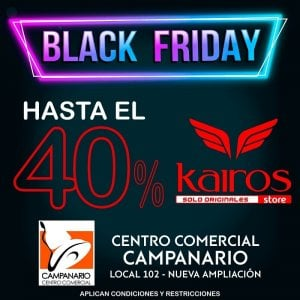 4a1ab65c62 50% de descuento en el segundo artículo. Ofertas de Black Friday. Kairos