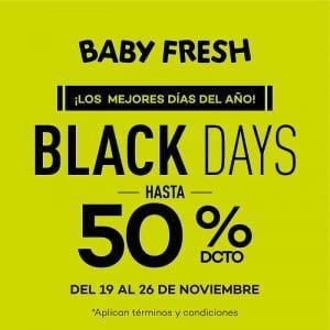 Hasta el 50% de descuento en Baby Fresh