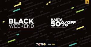 Ofertas Black Friday Totto