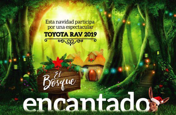 Esta navidad participa por una espectacular Toyota RAV 2019