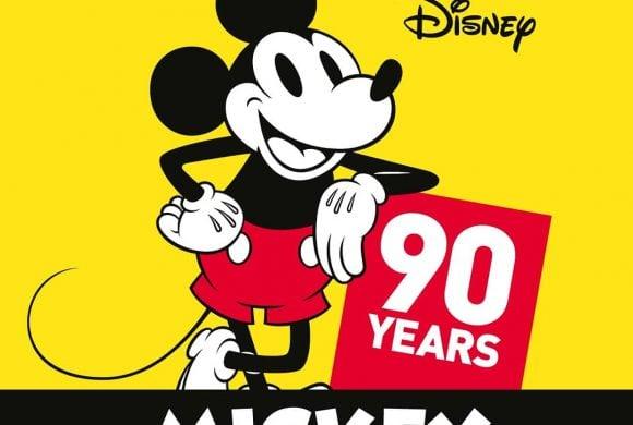 Mickey cumple 90 años