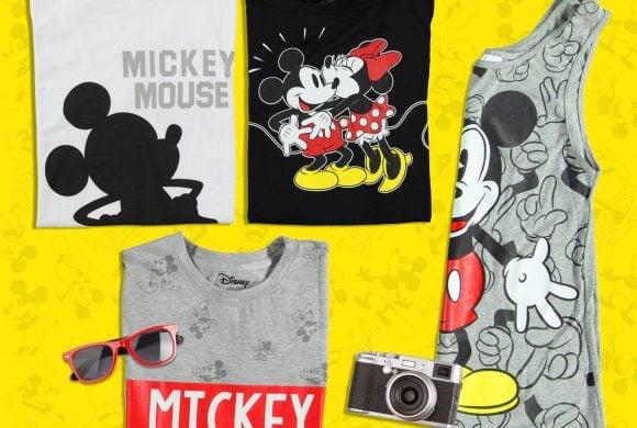 Prendas para celebrar los 90 años de Mickey