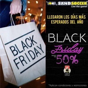 Descuento Black Friday Sand Soccer