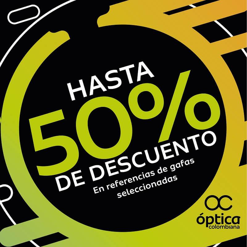 30b2d1aa35 Descuentos especiales del 20% y 50% en Bazar Hindú; Black Friday optica  colombiana