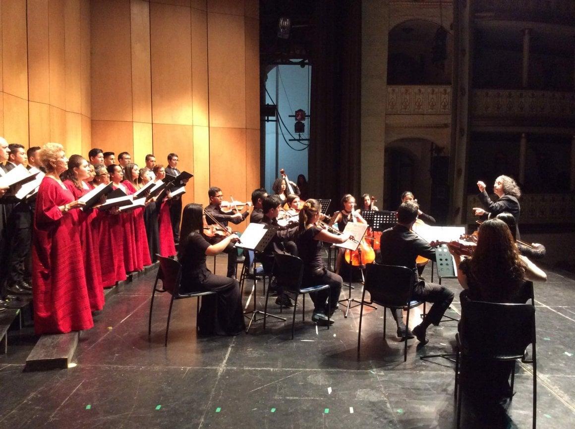 Concierto del grupo de cuerdas de la Orquesta Filarmonía Popayán
