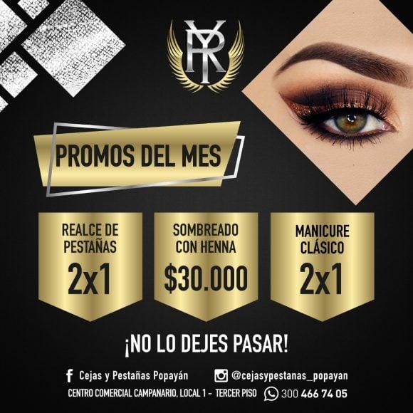 Promos del mes – Yohana Rivera