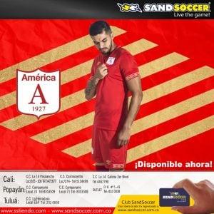 Camiseta Oficial América de Cali – Sand Soccer