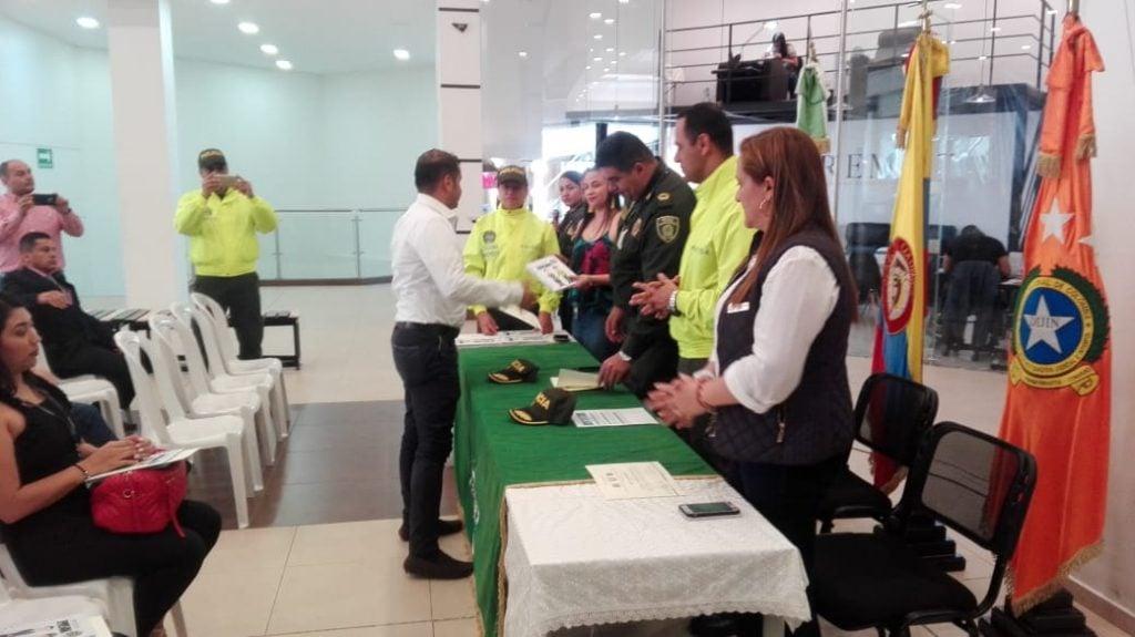 Campanario recibió reconocimiento en seguridad