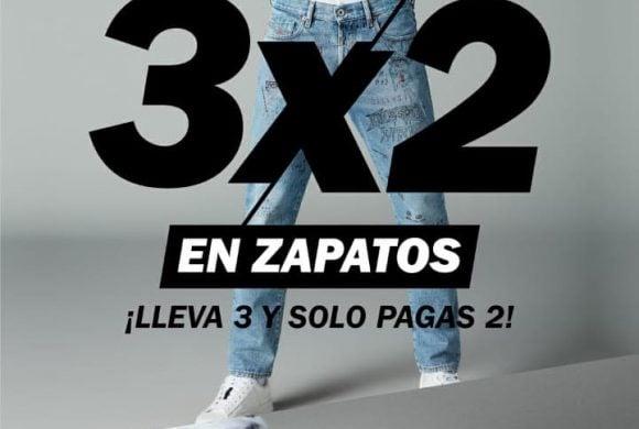 3×2 en zapatos – Pilatos
