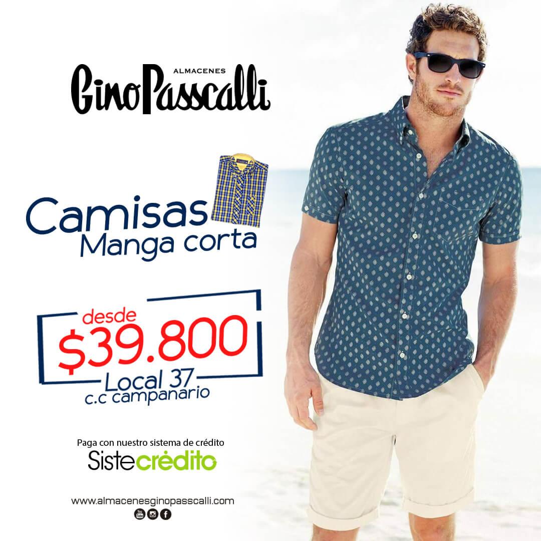 Camisas Manga Corta – Gino Passcalli