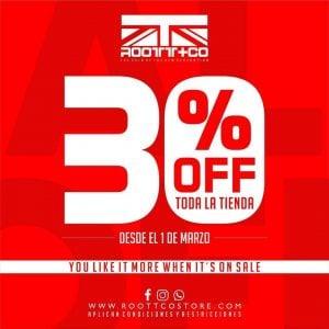 30% en ROOTT+CO