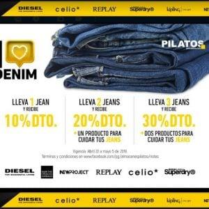 I love denim – Pilatos