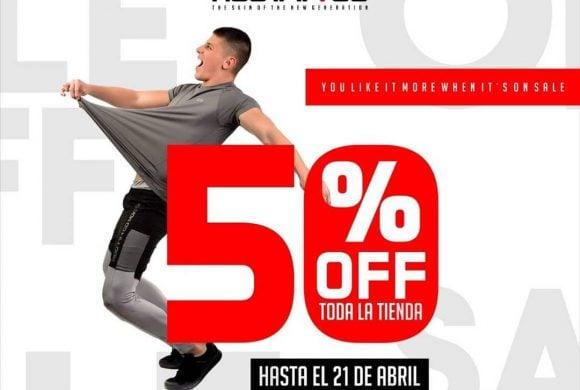 Toda la tienda 50%