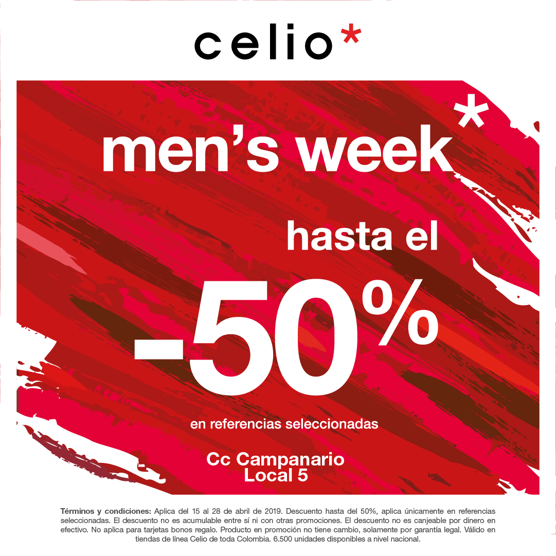 Celio Mens Week