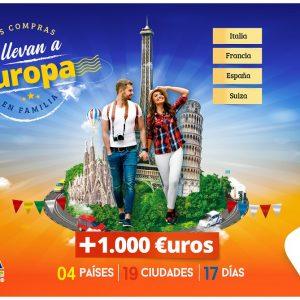 Vuélate a Europa en Familia