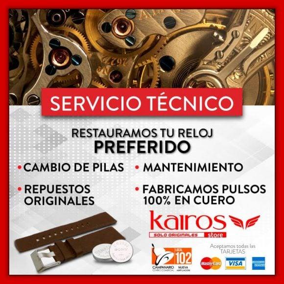 Servicio Técnico – Kairos