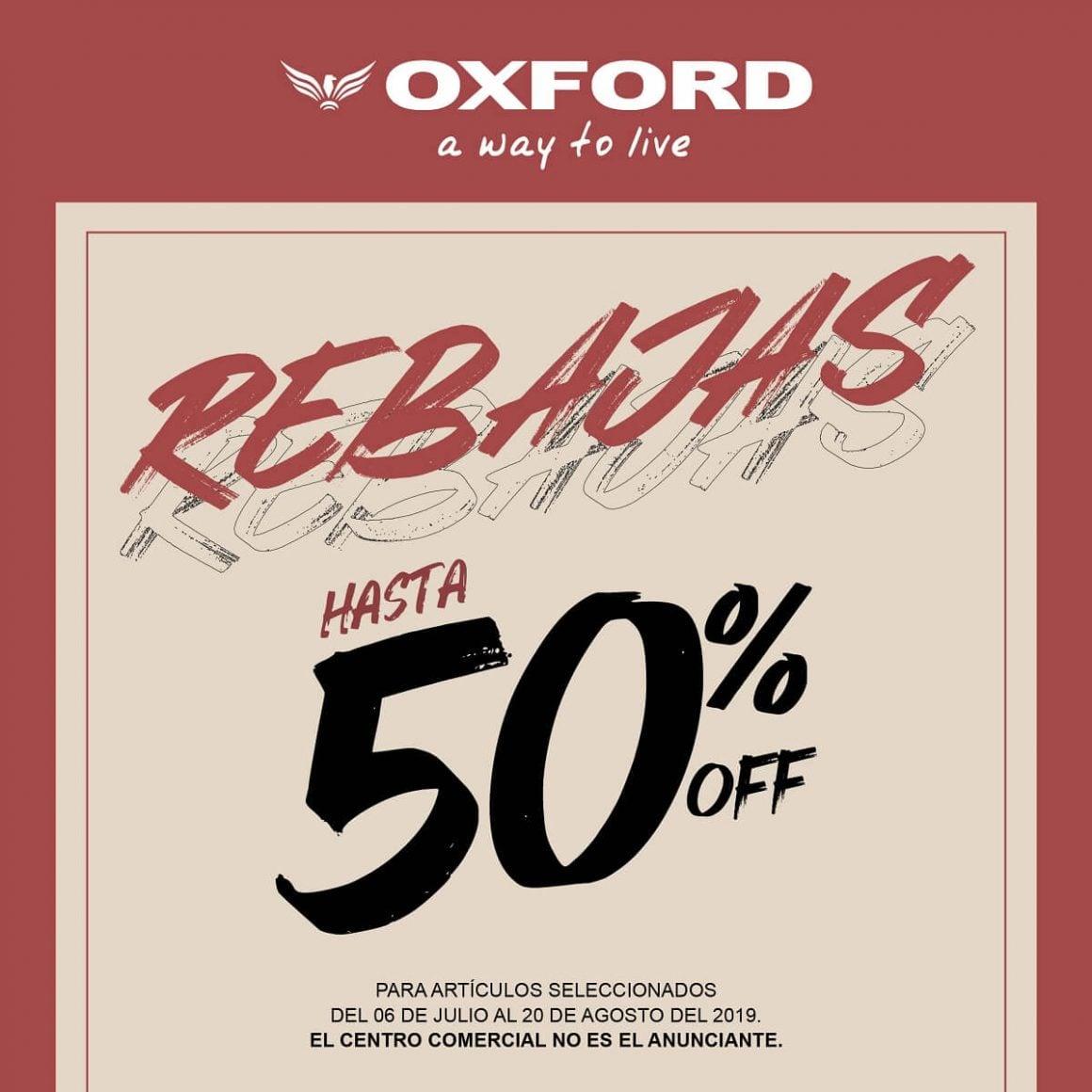 Temporada de Rebajas – Oxford