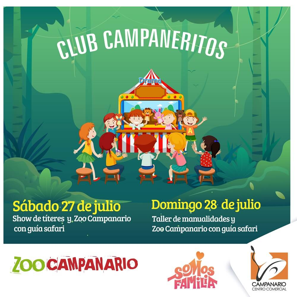 Invitación del Club Campaneritos