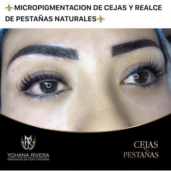 Cejas y Pestañas – Yohana Rivera