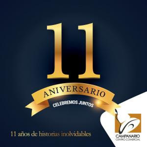 """Términos y condiciones campaña """"11 Aniversario 11 premios 11 ganadores"""""""