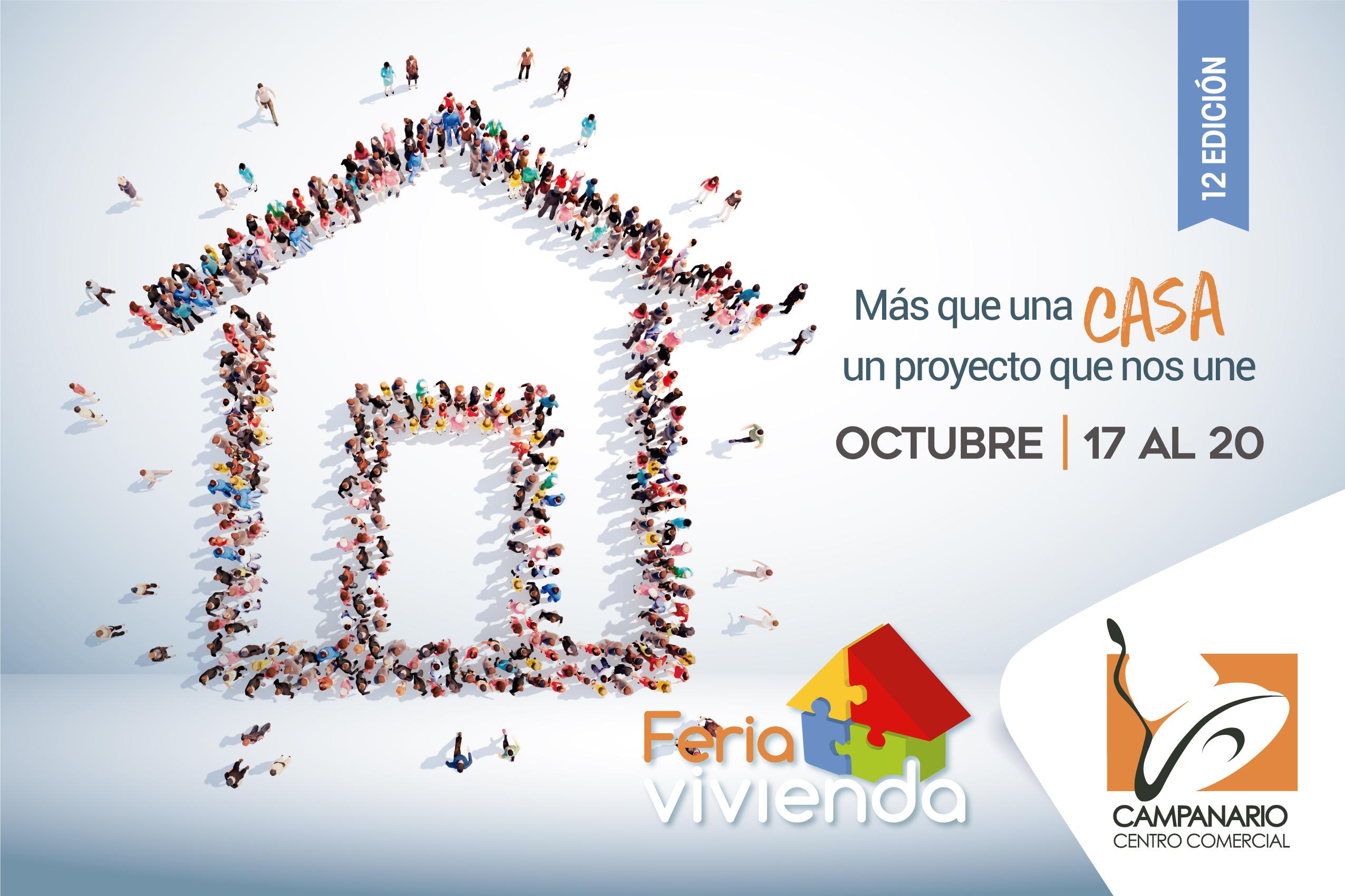 XII Feria de vivienda 2019, del 17 al 20 de octubre