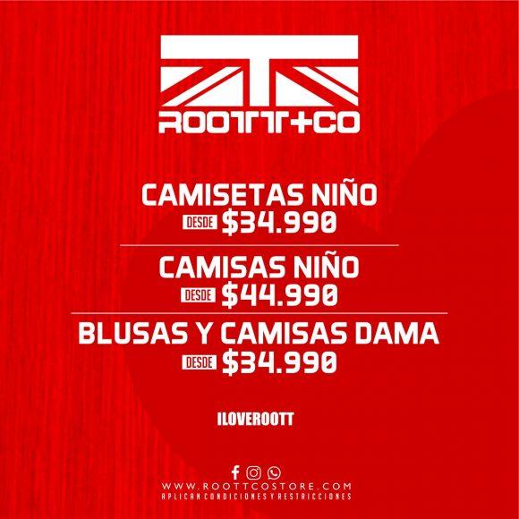 Precios especiales Roott+Co