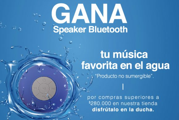 Llévate un speaker bluetooth con Oxford