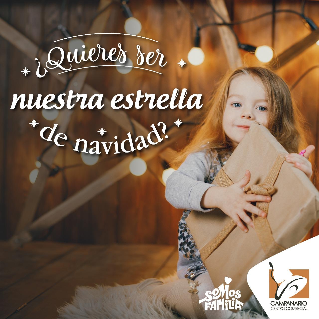 ¿Te gustaría que tu hijo sea la imagen de nuestra campaña de #Navidad2019?