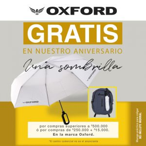 Oxford Jeans te regala una sombrilla