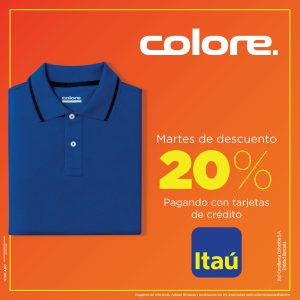 20% en colore!
