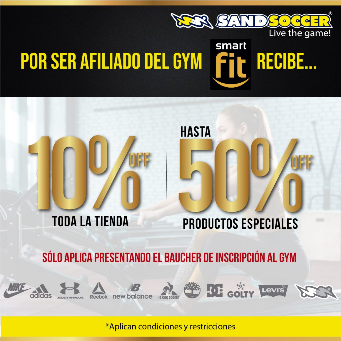 Sandsoccer y Smart Fit