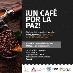 Un Café por la Paz