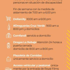 COMUNICADO NO. 04 – COVID 19, CORONAVIRUS | ¡NO HAY DESABASTECIMIENTO!