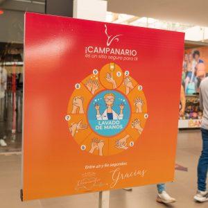 Campanario Centro Comercial realiza apertura gradual del comercio