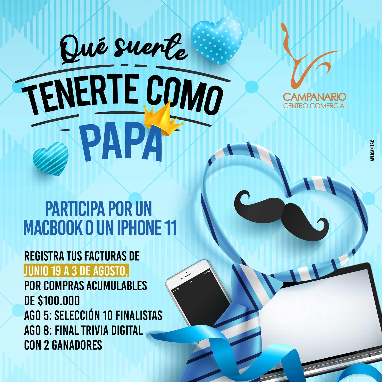 Campanario lanza su campaña digital 'Qué suerte tenerte como papá'