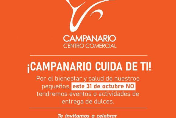 Campanario restringirá ingreso de menores este sábado 31 de octubre