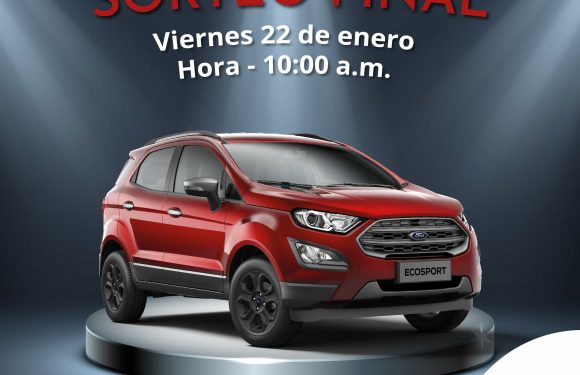Cambio de fecha, sorteo de la camioneta Ford EcoSport