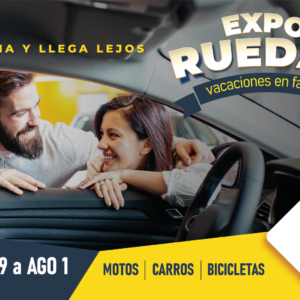 Estrena y llega lejos con Expo Ruedas 2021
