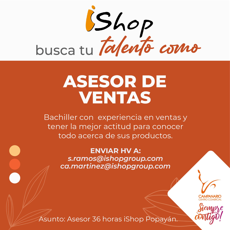 Asesor de Ventas iShop