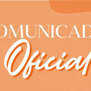 Comunicado Oficial ante los hechos ocurridos el día 14 de Octubre de 2021